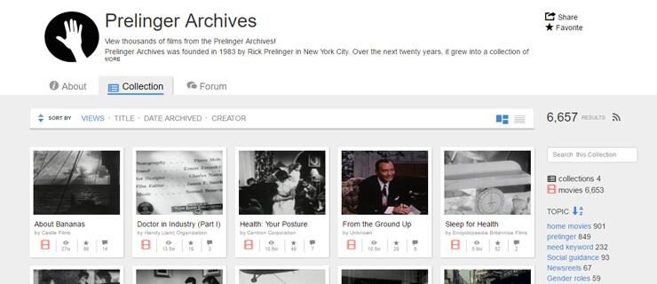 prelinger archives