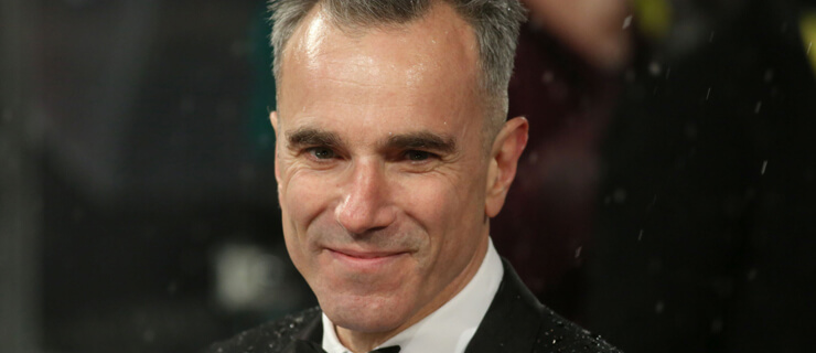 Daniel Day Lewis seen arriving for the BAFTA Film Awards at the Royal Opera House on Sunday, Feb. 10, 2013, in London. (Photo by Ki Price/Invision/AP)
