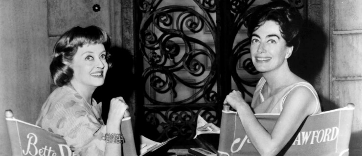 Joan Crawford e Bette Davis