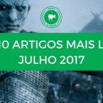 Top 10 de Artigos mais lidos no mundo de Cinema Julho2017
