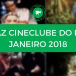 Conheça o cartaz do Cineclube do Porto Janeiro 2018
